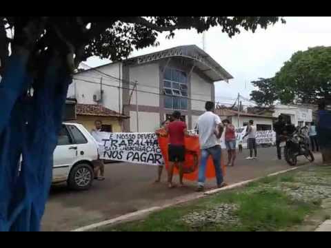 Manifestação em Capinzal do Norte.