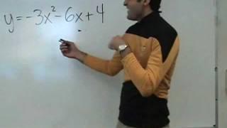Algebra - Quadratic Functions (Parabolas)