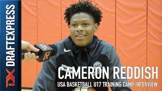 Cameron Reddish USA Basketball U17 Training Camp Interview