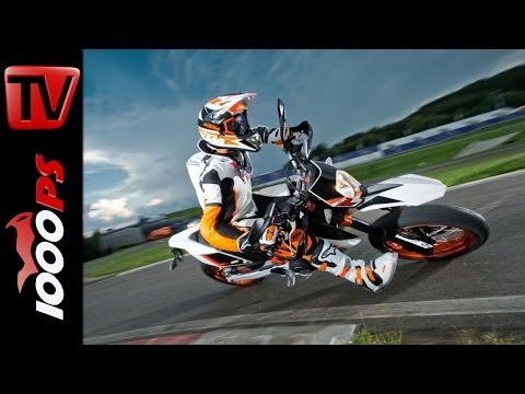 KTM 690 SMC R 2014 – Supermoto Action | Drifts, Slides, Wheelies
