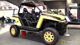 9. 2017 RBS Atacama 1200 Side by Side ATV - Walkaround - 2016 EICMA Milan