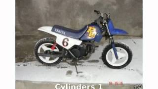 3. 2008 Yamaha PW 50 - Features and Walkaround