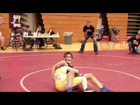 Jordan Pryor Junior Terps 125lbs vs Jimmy Nugent Iowa Lil Hawks AAU