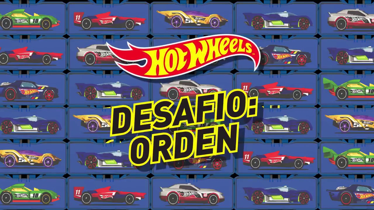 Porta Carrinhos Modulares Hot wheels