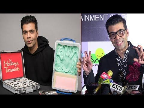 Karan Johar REACTS On His Wax Statue In Madame Tus