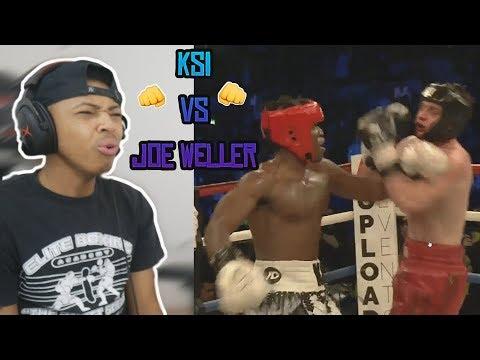 KSI vs Joe Weller – Copper Box Arena Reaction (видео)