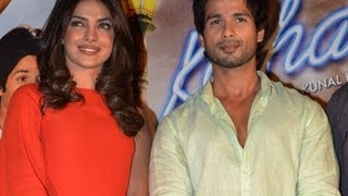 Teri Meri Kahaani First Look Launch - Shahid & Priyanka