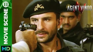 Nonton Saif Ali Khan caught on gun point | Agent Vinod Film Subtitle Indonesia Streaming Movie Download