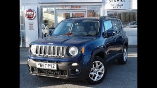 Video Jeep Renegade 1.6 Multijet Longitude 5dr - Delivery Miles (YR67PYZ) MP3, 3GP, MP4, WEBM, AVI, FLV Oktober 2017