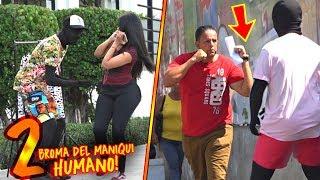 ¡La Broma Del Maniquí Humano! #2 | Adolfo Lora