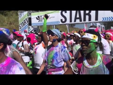 Video: The Color Run in Soweto