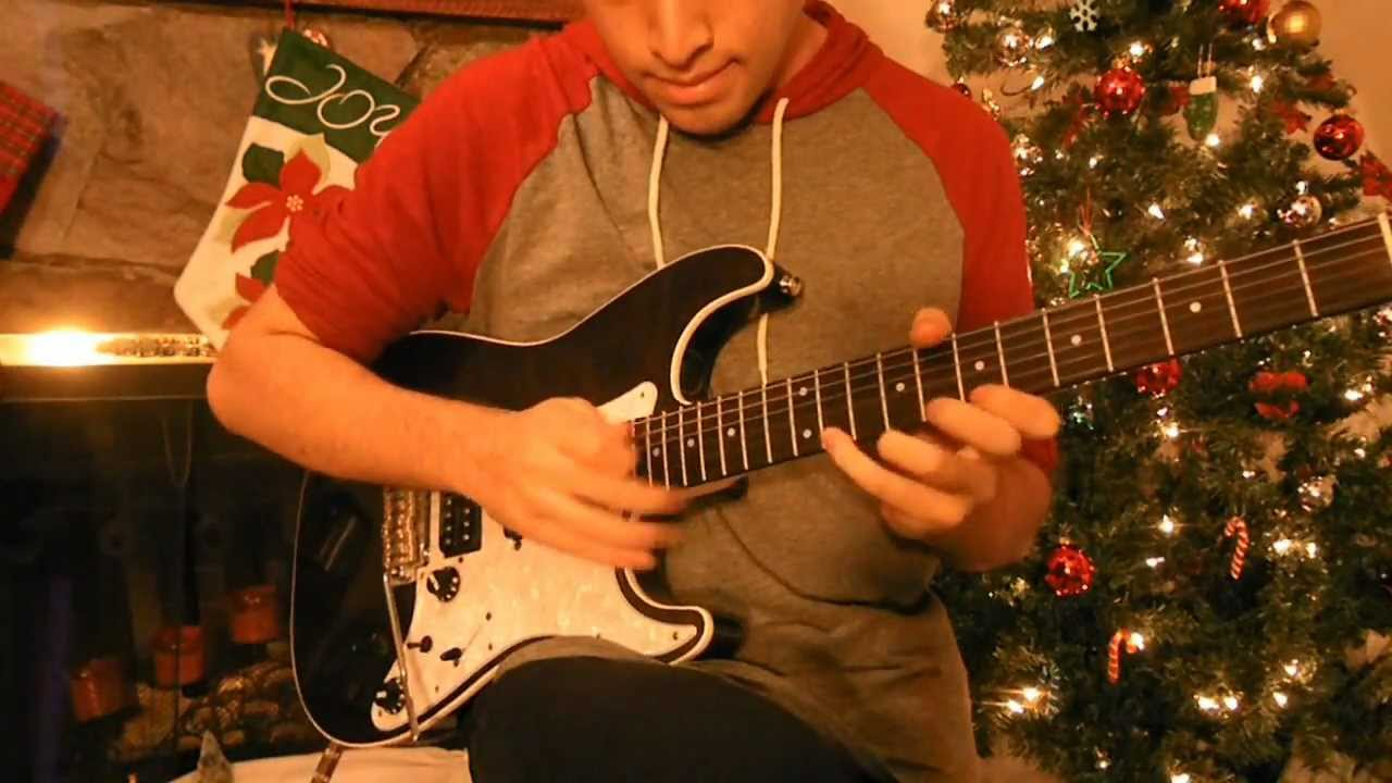 – Christmas Carol Rock 2 – Eric Maldonado – Hard Rock Electric Guitar –