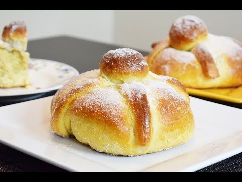 Day of the Dead Mexican Bread, Delicious and Easy