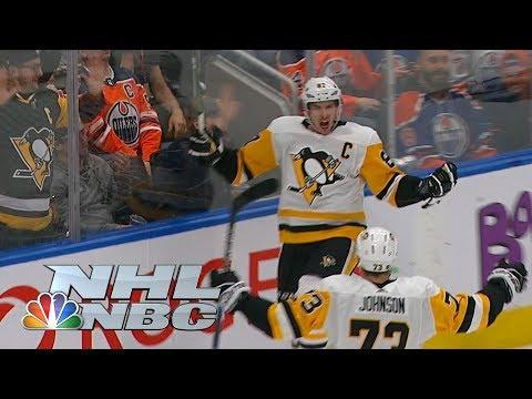 Video: Sidney Crosby nets absolutely brilliant OT winner I NHL I NBC Sports