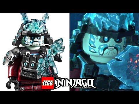 ALL 25+ LEGO Ninjago Season 11 Minifigures vs Animated Episodes!