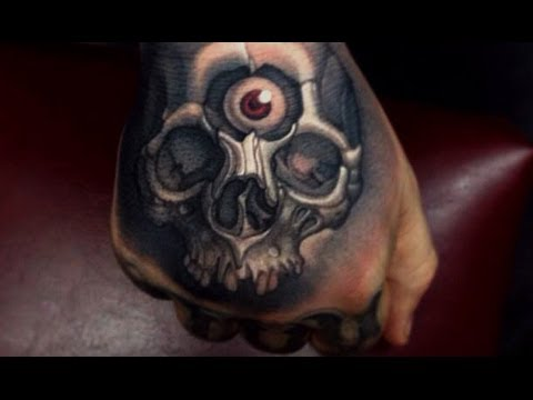 3D Skull Tattoo Designs – Best 3D Tattoos – Awesome Tattoos – Amazing Tattoo Ideas
