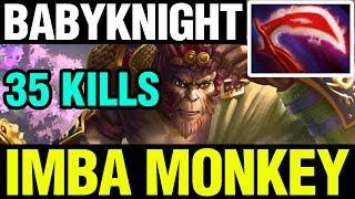 Video IMBA MONKEY - BabyKnight Plays Monkey King WITH 35 KILLS - Dota 2 MP3, 3GP, MP4, WEBM, AVI, FLV Juni 2018