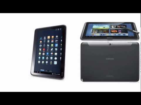 HTC Jetstream versus Samsung Galaxy Tablet Note 10.1 N8000, full specifications