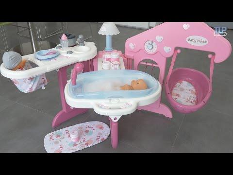 Smoby Baby Nurse : Maison des bébés - Démo du jouet en français