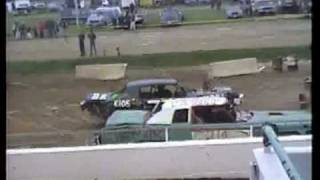Canfield, Ohio fall invitational demo derby 1994