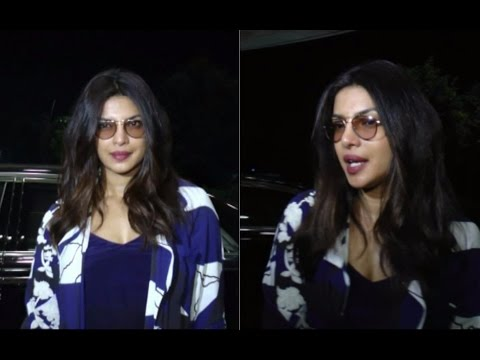Spotted Priyanka Chopra At International Airport