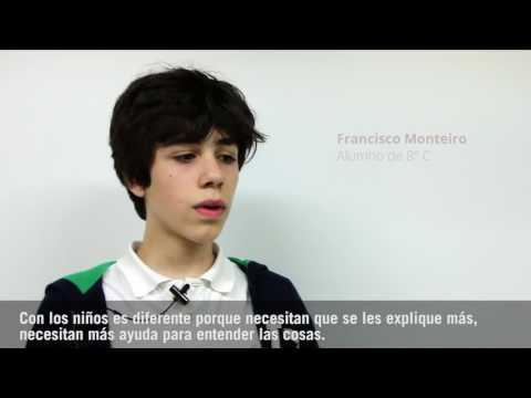 Lectura en Francés de alumnos de Primaria a Infantil
