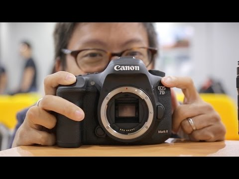 Preview - We got invited to the launch of the Canon EOS 7D Mark II(http://bit.ly/7DMKII), where we finally got to grips with the successor to the venerable 7D. Watch the vid to find out what the best...