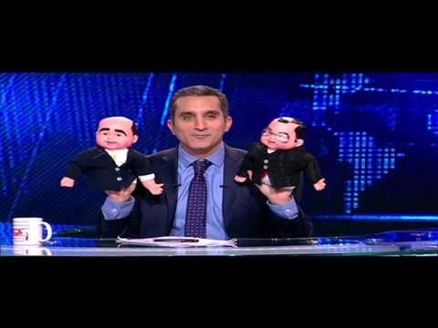 """باسم يوسف يهاجم توفيق عكاشة و""""سبايدر"""" وموسى"""