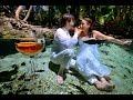 Matrimonio E Trash The Dress In Cenote  Playa Del Carmen Mexico  Claudia E Alberto