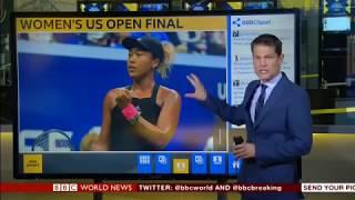 Video Serena Williams' outburst as Osaka wins the US Open on BBC World MP3, 3GP, MP4, WEBM, AVI, FLV April 2019
