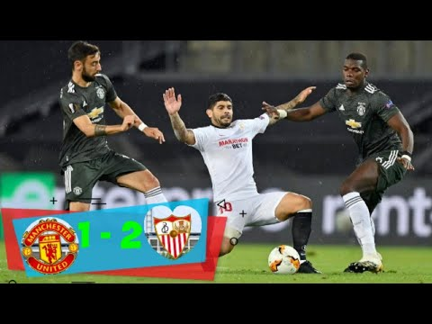 Manchester United vs Sevilla (1-2) Extended football highlights and all goals [UEFA Europa League]