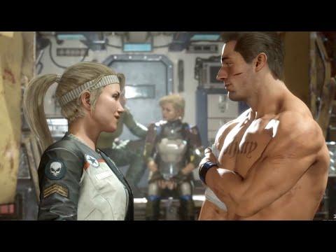 MORTAL KOMBAT 11 - Johnny Cage & Sonya From Past Fall In Love (MK11 2019) PS4 Pro - Thời lượng: 10 phút.