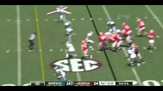 Aaron Murray vs Buffalo (2012)
