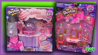 """We're a little late to the party, but we still had fun checking out these Season 7 Shopkins sets of the Cotton Candy Party and Princess Party!SUBSCRIBE and never miss a video! http://www.youtube.com/subscription_center?add_user=BinsToyBinAbout Bin's Toy Bin →Adventures in toy collecting! Join husband and  wife team, Bin and Jon (and their son Teagan, too) as they review the latest (and sometimes not-so-latest) toys in their own unique way! Check back daily for new videos!  Also be sure to visit our 2nd YouTube channel for our Family Vlogs!MORE FUN TOY VIDEOS TO ENJOY ON OUR FAMILY-FRIENDLY PLAYLISTS:Shopkins Season 7 and Shoppies Opening (Viewer Request) - https://youtu.be/klMvIeBd1EIHanazuki Surprise Treasures FULL CASE Opening w/ Codes - https://youtu.be/SrERPrKX__gMinions Mineez RARE GOLD Figure Unboxing - https://www.youtube.com/watch?v=sbxVm5UKJ3A&list=PLjr8-7syO5b2g3VQViMHLbogtlnWrSQuH&index=11GET YOUR OFFICIAL BIN'S TOY BIN GEAR! →  http://binstoybin.spreadshirt.com/Follow Bin & Jon → Bin's Toy Bin Family Vlogs (Our 2nd YouTube Channel): http://www.youtube.com/BinsToyBinTravelOfficial Site: http://binstoybin.com/IG: @binstoybinFB: https://www.facebook.com/BinsToyBinSnapchat: real_binstoybinTwitter: @BinsToyBinG+: https://plus.google.com/+BinsToyBinMUSIC USED:""""Beach Front Property"""" by Silent Partner from YouTube Audio Library"""