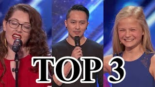 Download Video TOP 3 BEST Auditions America's Got Talent 2017 MP3 3GP MP4