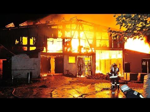 Scheune in Vasbeck von Feuer zerstört