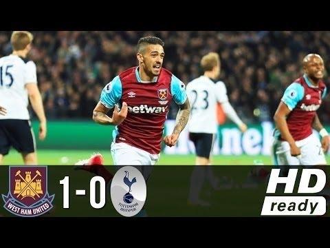 West Ham Vs Tottenham (1-0) - All Goals & Highlights - EPL 05/05/2017 | HD 1080p