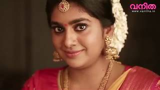 Nimisha Sajayan Vanitha Cover Shoot
