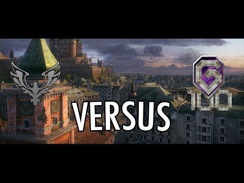 World of Tanks  FAME vs G100  Stronghold [Advance]