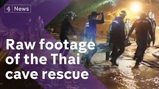 Video Thailand cave rescue: new footage of dramatic mission MP3, 3GP, MP4, WEBM, AVI, FLV Juli 2018