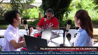 Episode 50 with Batangas Agricultural Program Coordinating Officer (APCO) Fidel Libao