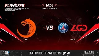 TNC vs PSG.LGD, MDL Changsha Major, game 1 [Maelstorm, Lum1Sit]