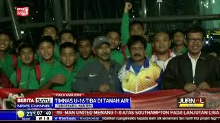 Video Timnas U-16 Tiba di Tanah Air MP3, 3GP, MP4, WEBM, AVI, FLV April 2018