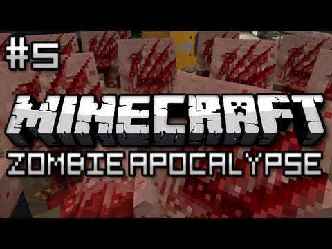 Minecraft: Zombie Apocalypse Part 5 – Reactor Core