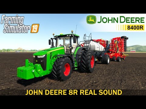 CSS John Deere 8r real sound v1.0.2