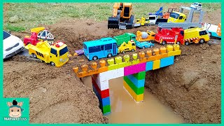 Video Tayo Bus Car toy videos for kids | Excavator, Truck, Mega Bloks, Nursery Rhymes Song | MariAndToys MP3, 3GP, MP4, WEBM, AVI, FLV Agustus 2018