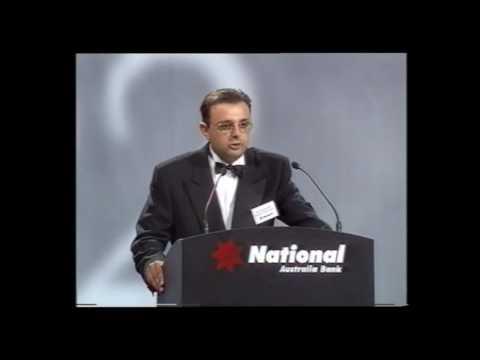 1997 Ethnic Business Awards Winner – Manufacturing Category – Sarantos Moulardellis – Kingston Estate Wines