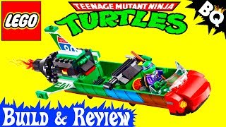LEGO Ninja Turtles T-Rawket Sky Strike 79120 TMNT Review