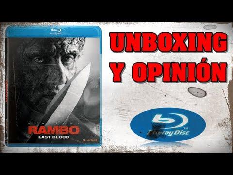 🔪UNBOXING Y OPINIÓN- RAMBO LAST BLOOD- RAMBO 5- BLURAY