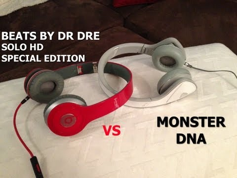 Dnas - A head to head review with two popular on-ear portable headphones the Beats By Dr Dre Solo HD and Monster DNA. Comment with any questions or requests!